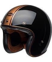 BELL Custom 500 DLX Helmet Rally Gloss Black/Bronze
