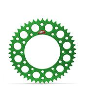 RENTHAL Ultralight™ Rear Sprocket 48 Teeth Alu Self-Cleaning 520 Pitch Type 112U Green