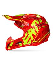 Casque LEATT GPX 5.5 Composite junior rouge/jaune T.
