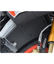 R&G RACING Radiator Guard Titanium Aprilia Tuono 1000 V4