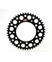RENTHAL Ultralight™ Rear Sprocket 48 Teeth Alu Self-Cleaning 520 Pitch Type 123U Black Anodized Suzuki