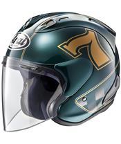 Casque ARAI SZ-RAM X Café Racer Green