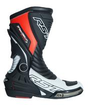 Bottes RST TracTech Evo 3 CE cuir rouge fluo 47 homme