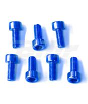 Kit tornilleria tapón depósito Pro-Bolt Kawasaki Aluminio azul TKAWB