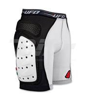 Pantalones cortos UFO con protecciones blanco talla XL PI06281KXL