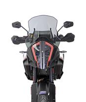 "MRA Touring ""T"" Windshield Black KTM SuperAdventure 1290S"