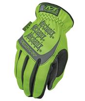 MECHANIX Safety Fast Fit Neon Yellow Gloves Size XL