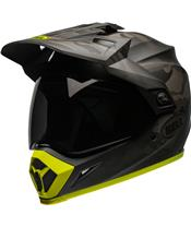 Casque BELL MX-9 Adventure Mips Stealth Camo Matte Black/Hi-Viz