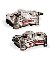 Paire d'étrier de frein avant axial BREMBO GP4-MS 4 pistons Ø30mm