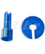 Tensor de Pro-Bolt M8 (1 peças) alumínio azul LCA10B
