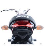 Support de plaque noir R&G RACING Ducati Scrambler Icon