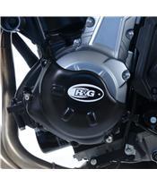 R&G RACING Gehäusedeckel links schwarz Kawasaki Z650