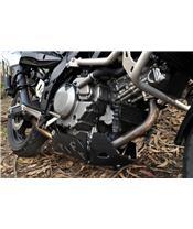 BIHR Trail Skid Plate Aluminium Black Suzuki DL650 V-Strom