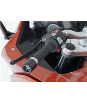 Embouts de guidon R&G RACING noirs BMW F800GT