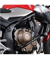 Protections latérales R&G RACING argent Honda CB500