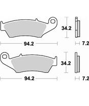 BRAKING Brake Pads 772CM44 Sintered Metal