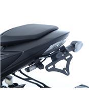 R&G RACING License Plate Holder Black Suzuki GSX-S750