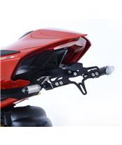 Support de plaque R&G RACING noir Ducati Panigale V4