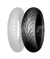 Neumático Michelin 190/55 ZR 17 M/C (75W) PILOT ROAD 4 R TL - 029239