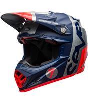 BELL Moto-9 Flex Helmet Seven Galaxy Navy/Silver
