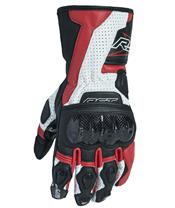 RST Delta III CE Gloves Leather Red Siz