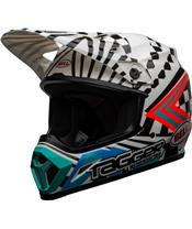 Casque BELL MX-9 Mips Check Me Out Gloss Black/White