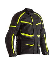 Chaqueta Textil (Mujer) RST MAVERICK Negro/Am. Flúor , Talla 16/XL