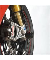 R&G RACING Fork Protectors Black Ducati