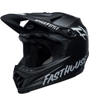 Casque BELL Moto-9 Youth Mips Fasthouse Matte Black/White tai