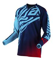 Maillot ANSWER Syncron Flow Astana/Indigo/Bright Red