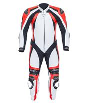 RST Pro Series CPX-C II Suit Leather White/Flo Red