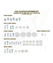 Complete set of Bolt plastic screws for Suzuki RM-Z450 /250