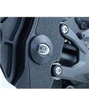 Rahmeneinsatz links unten schwarz R&G RACING Yamaha YZF-R1
