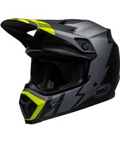 BELL MX-9 Mips Helm Strike Matte Gray/Black/Hi Viz Größe