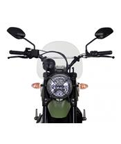 "MRA Touring ""NT"" Windshield Clear Ducati 800 Scrambler"