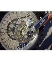 Schwingen- und Hinterradachsschutz R&G RACING für KTM SMC, EXC, SMR, LC4