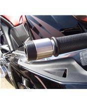 Embouts de guidon R&G RACING noir Aprilia RS125