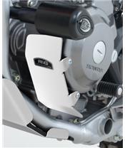R&G RACING Left Engine Case Guard Aluminium Black Honda CRF250M/250L