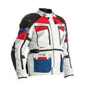 Chaqueta Textil (Hombre) RST ADVENTURE-X Azul/Rojo , Talla 58/2XL