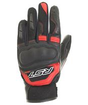 RST Urban Air II CE Gloves Leather/Textile Red Siz