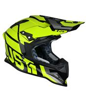 Casque JUST1 J12 Unit Neon Yellow