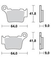 BRAKING Brake Pads 891CM46 Sintered Metal