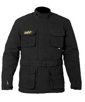 RST IOM TT Classic III 3/4 Jacket CE Waxed Cotton Black Size S