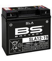 Batterie BS BATTERY SLA12-19 sans entretien activée usine