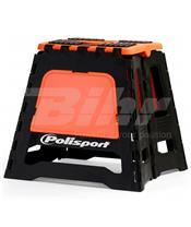 Caballete plegable de plástico Polisport naranja 8981500002
