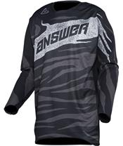 ANSWER Elite shirt black/charcoal