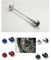 KAWA REAR CRASH BALL ZX6RR 03-07 TITANIUM