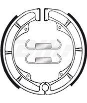 Zapatas de freno Tecnium BA018