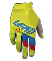 LEATT GPX 3.5 Lite Gloves Lime/Blue Size S/EU7/US8