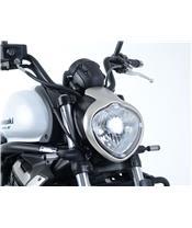 R&G RACING Headlight Shield Translucent Kawasaki Vulcan S